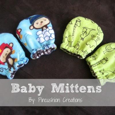 No-Scratch Baby Mittens
