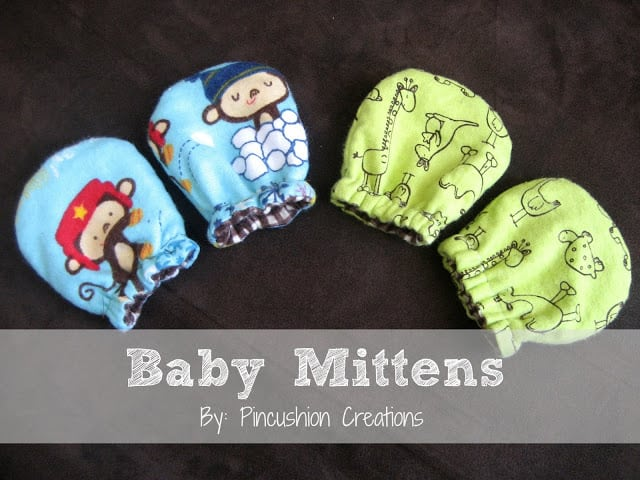 No-Scratch Baby Mittens - Made To Be A Momma