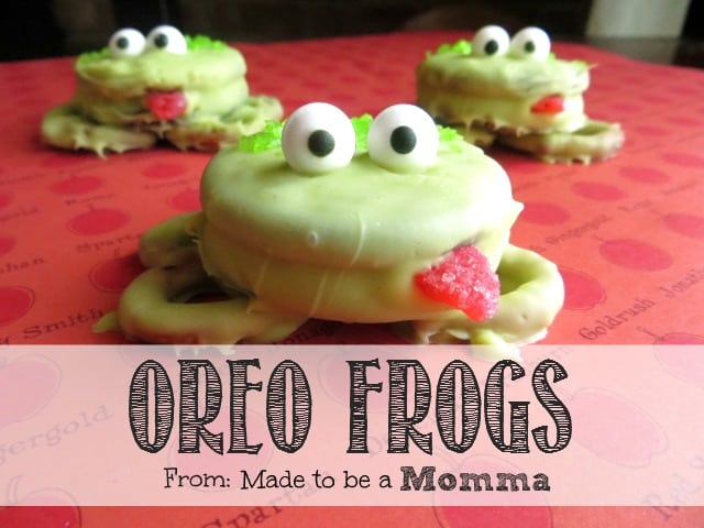 Recipe for frog cookies