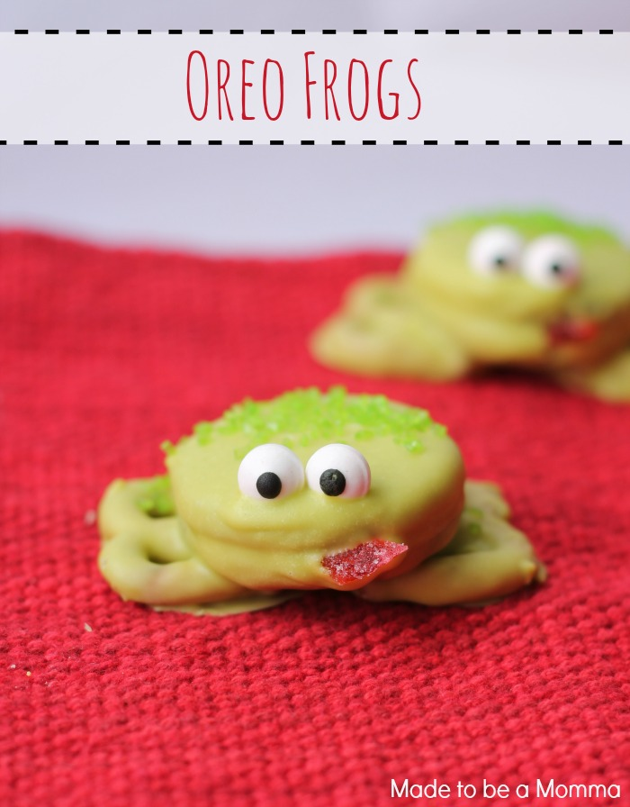Oreo Frogs Are The Perfect Kids Treat And Only Require A Few Ingredients