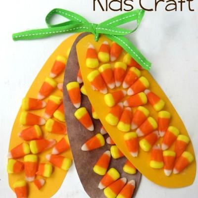 Thanksgiving Corn Kids Craft