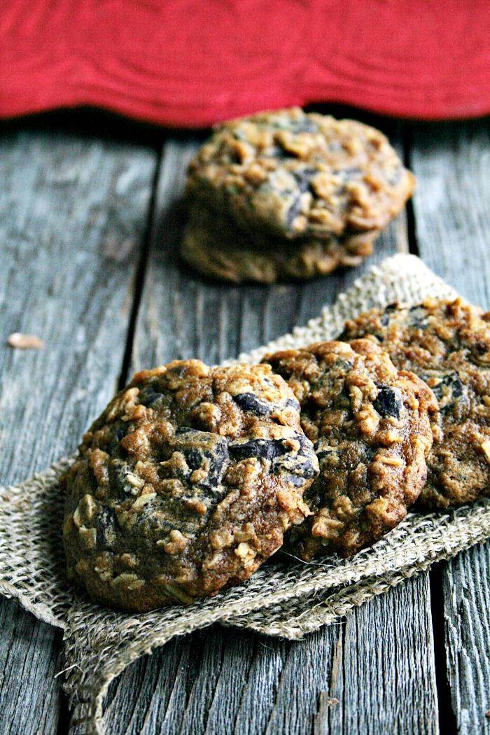 Pumpkin Oatmeal Chocolate Chunk Cookies