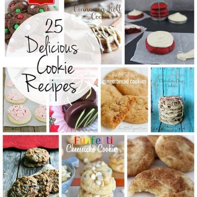 25 Delicious Cookie Recipes