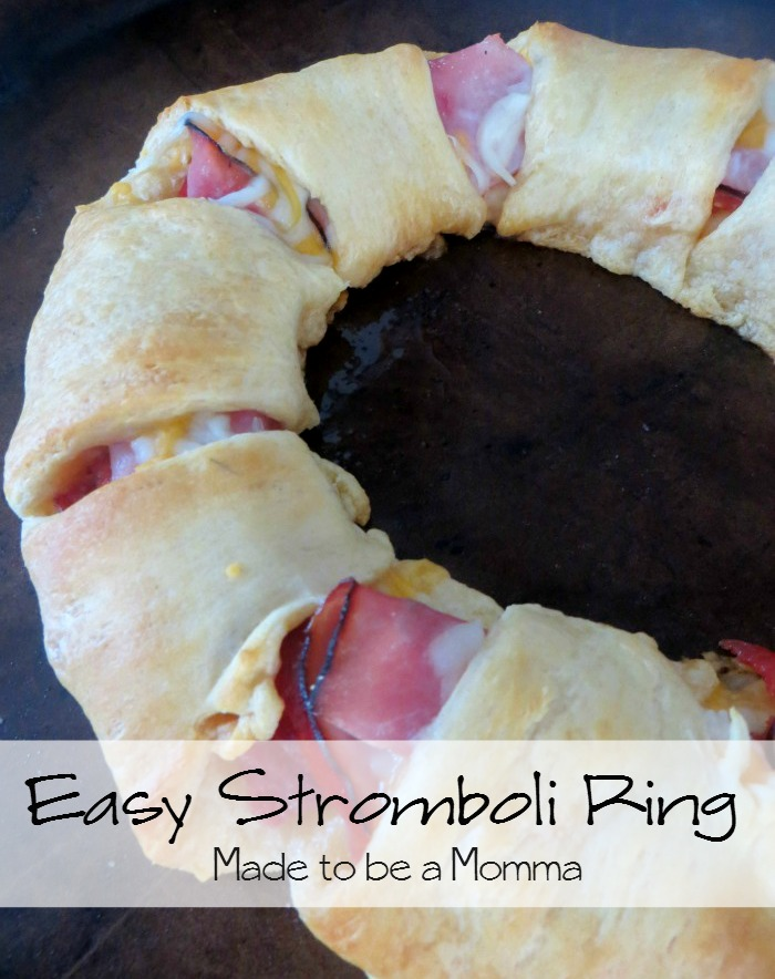 Easy Stromboli Ring #shop #HolidayAdvantEdge