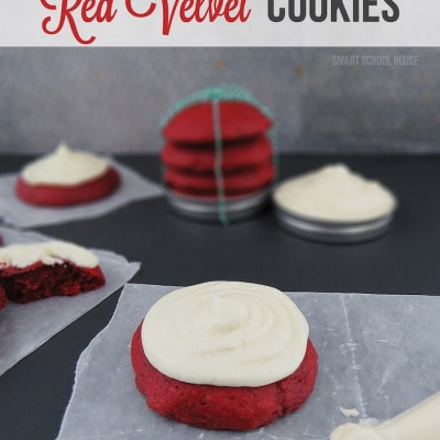 Red Velvet Cookies: Christmas Cookie Exchange