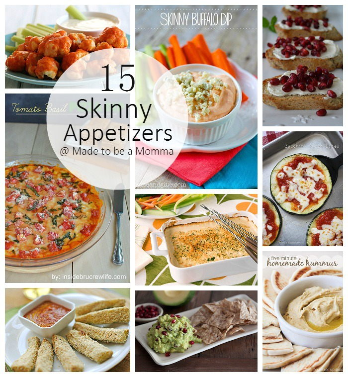 Skinny Appetizers : Perfect Healthy Recipes for any gathering!