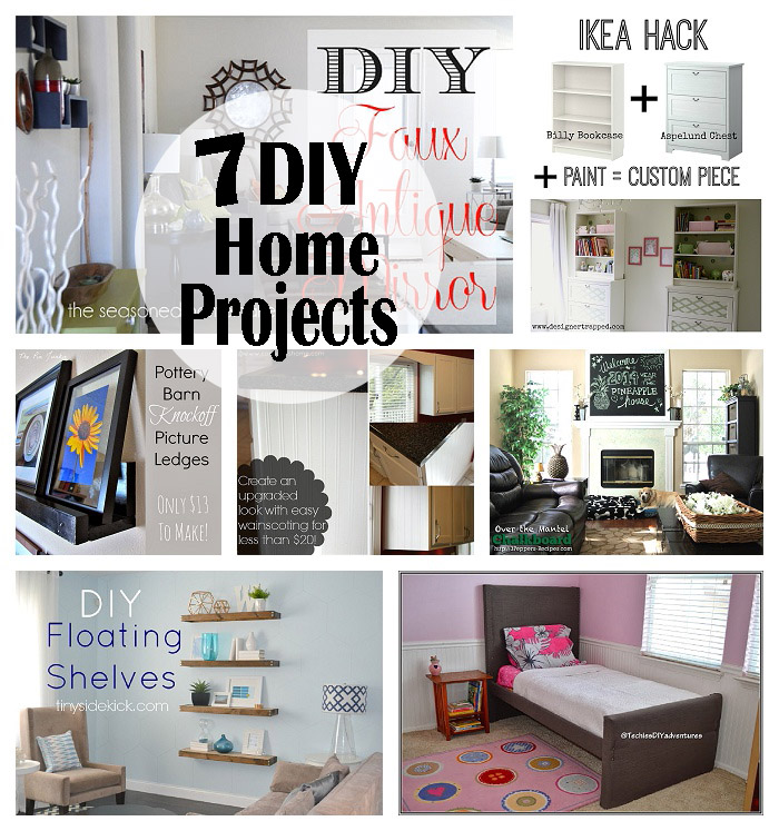 7 diy home projects made to be a momma for Home design diy ideas