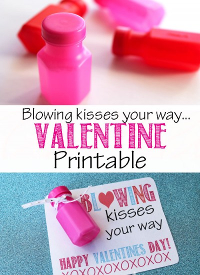 Valentine Printable: Bubbles