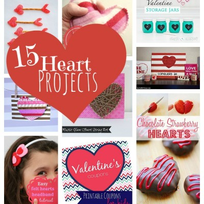 15 Heart Projects