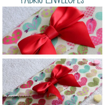 """Love Notes"": Fabric Envelopes"