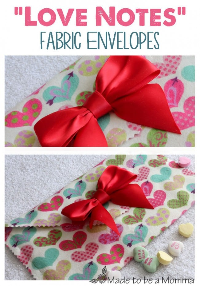 Love Notes- Fabric Envelopes