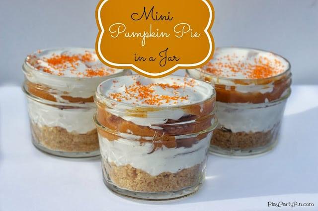 Mini Pumpkin Pies in a Jar - Final