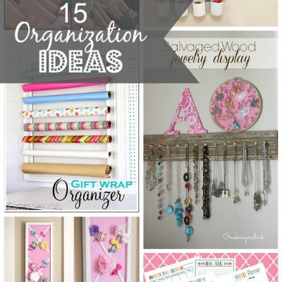 15 Organization Ideas