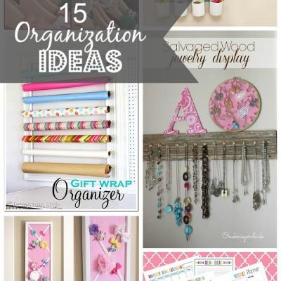 15 Organization Ideas
