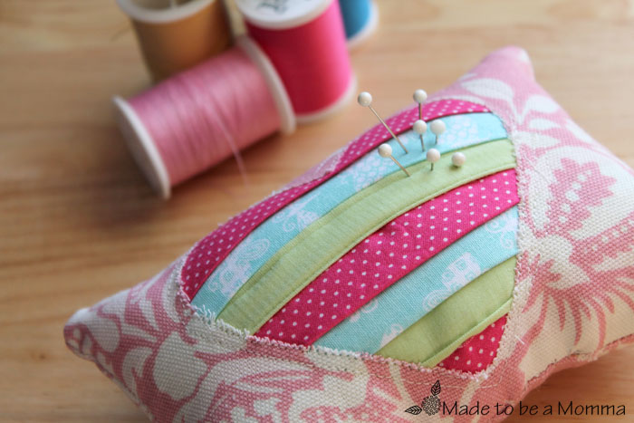 Pincushion Made to be a Momma