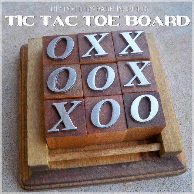 Tic Tac Toe Board Banner