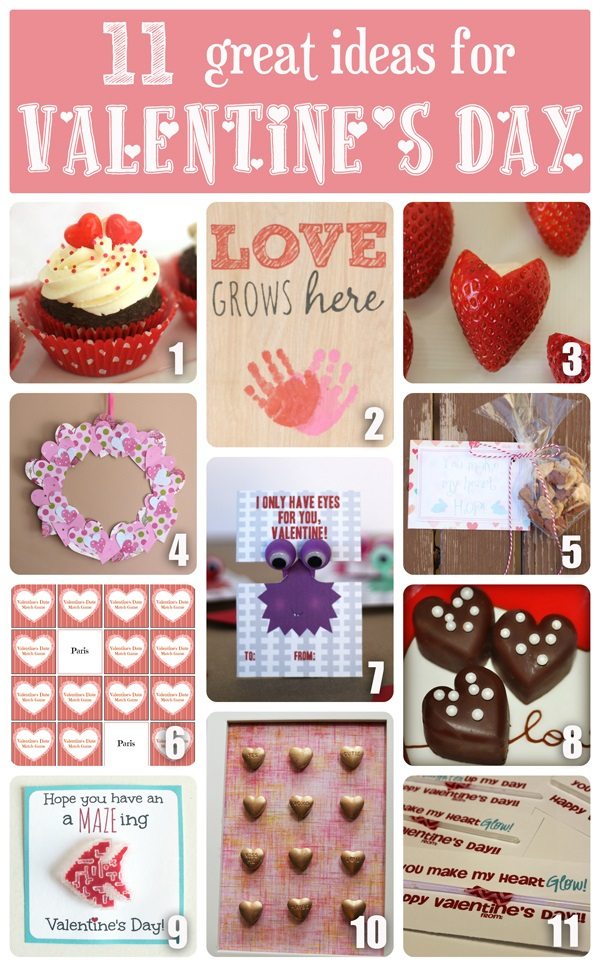Valentine Collage-Made to be a Momma