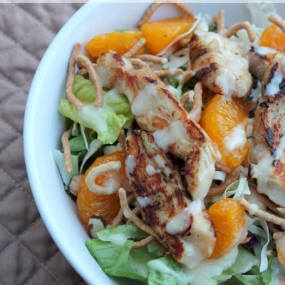 #ad Oriental Chicken Salad