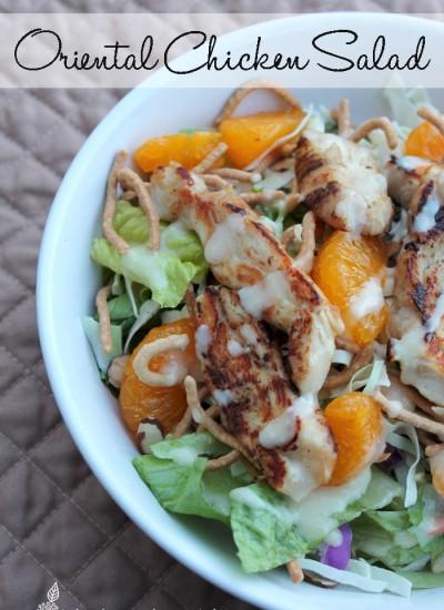 #ad Oriental Chicken Salad