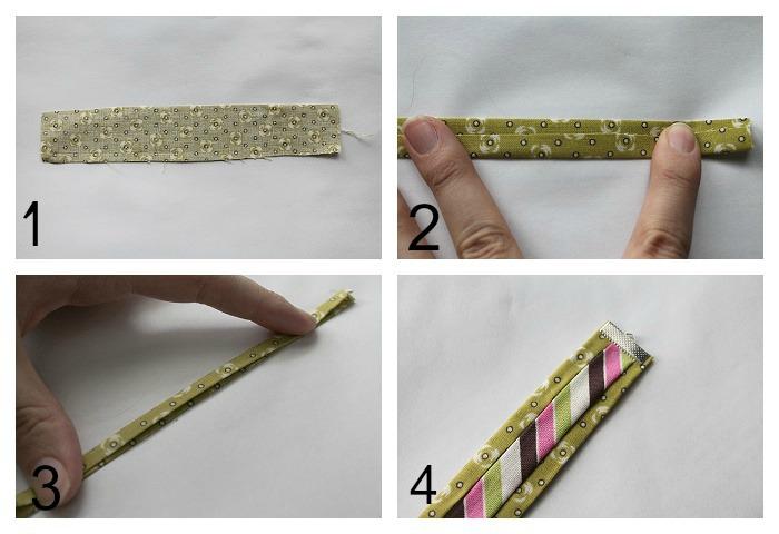 Fabric Bracelet Steps