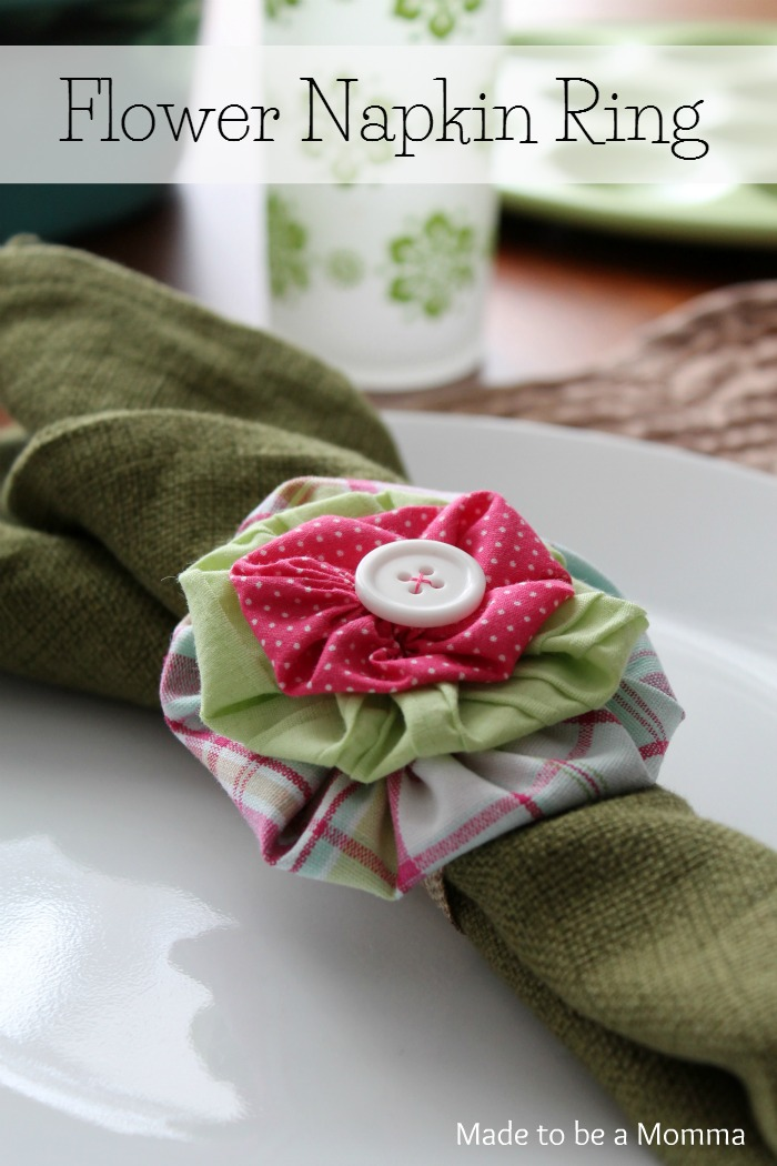 Flower Napkin Ring