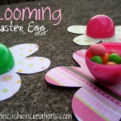 Blooming Easter Eggs