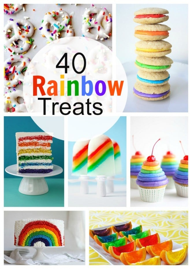 40 Rainbow Treats
