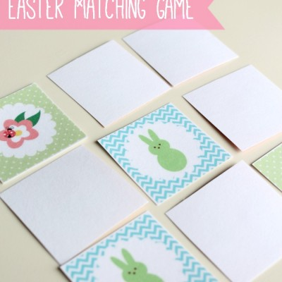 Free Printable: Easter Matching Game