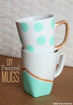 Diy Painted Mugs