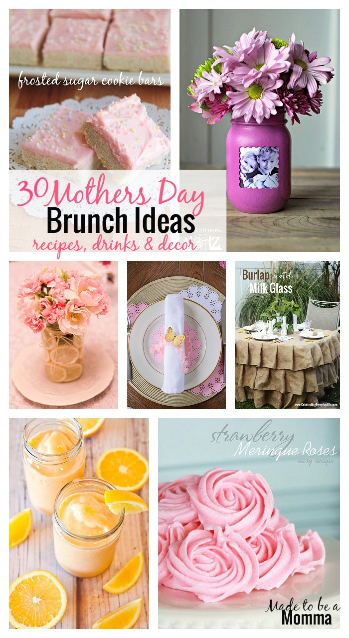 Mothers Day Brunch Ideas