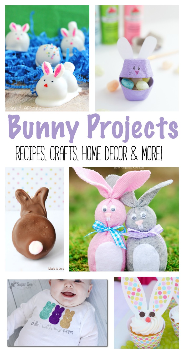 Bunny Projects | Easter Bunny | Easter Crafts | Bunny Recipes