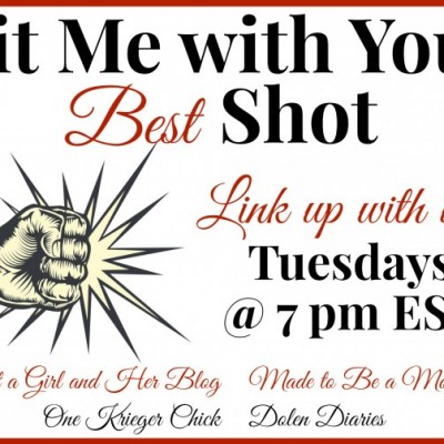 Hit Me With Your Best Shot Link Party #16