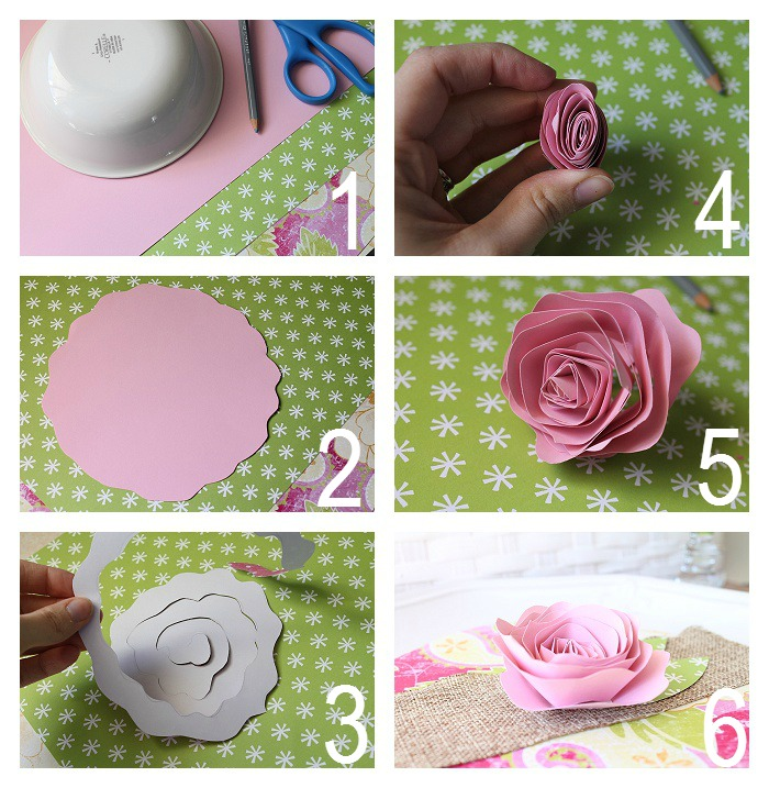 How to make a flower made of paper images flower decoration ideas rolled fabric flower made to be a momma rolled fabric flower mightylinksfo mightylinksfo