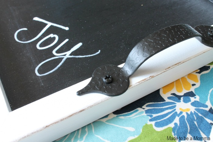 Chalkboard Tray Handle