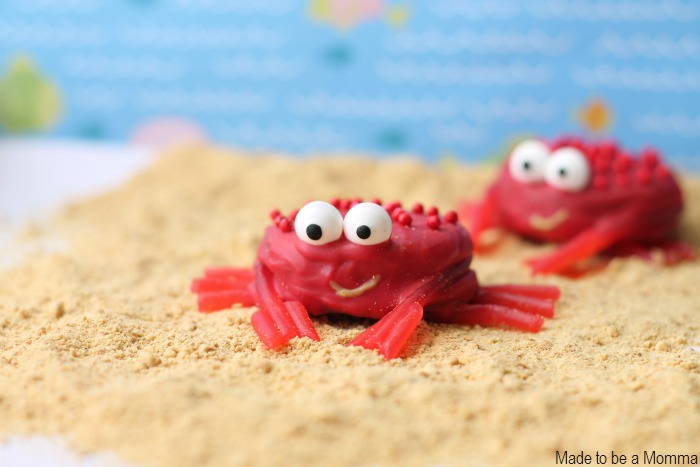 Crabs in Sand