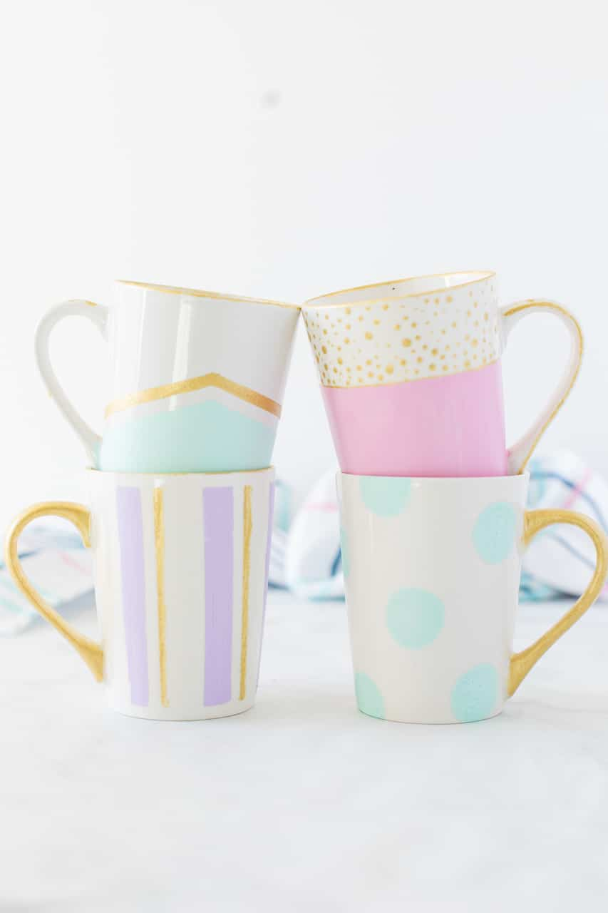 Diy Painted Mugs Made To Be A Momma
