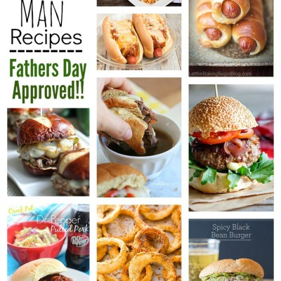 25 Manly Man Recipes