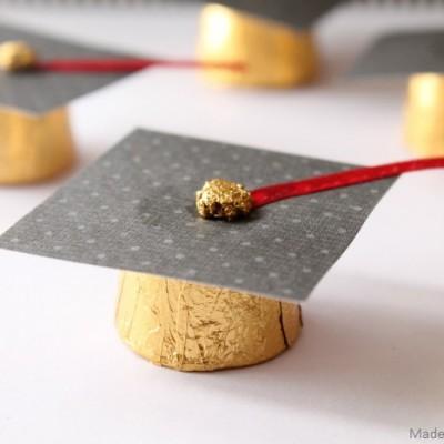 Graduation Cap Rolo Favors