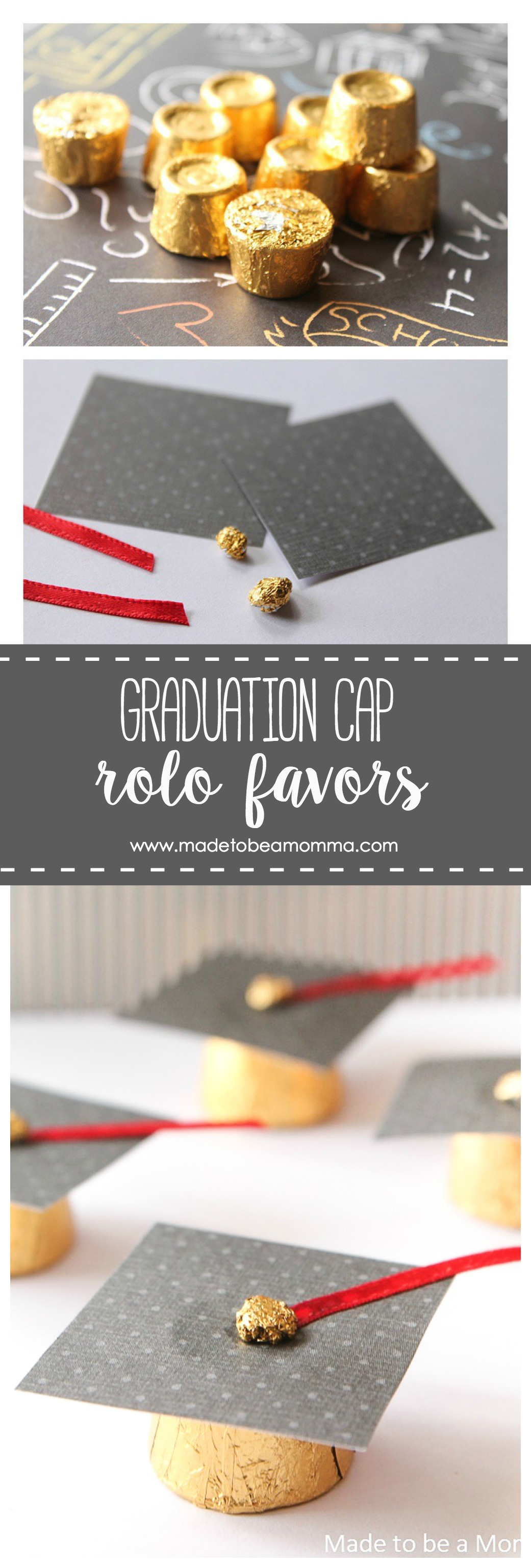 Graduation Cap Rolo Favors A Simple Favor Idea For Your Graduates Party