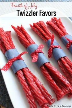 Mini Fourth of July Favors