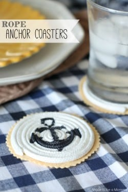 Rope Anchor Coasters