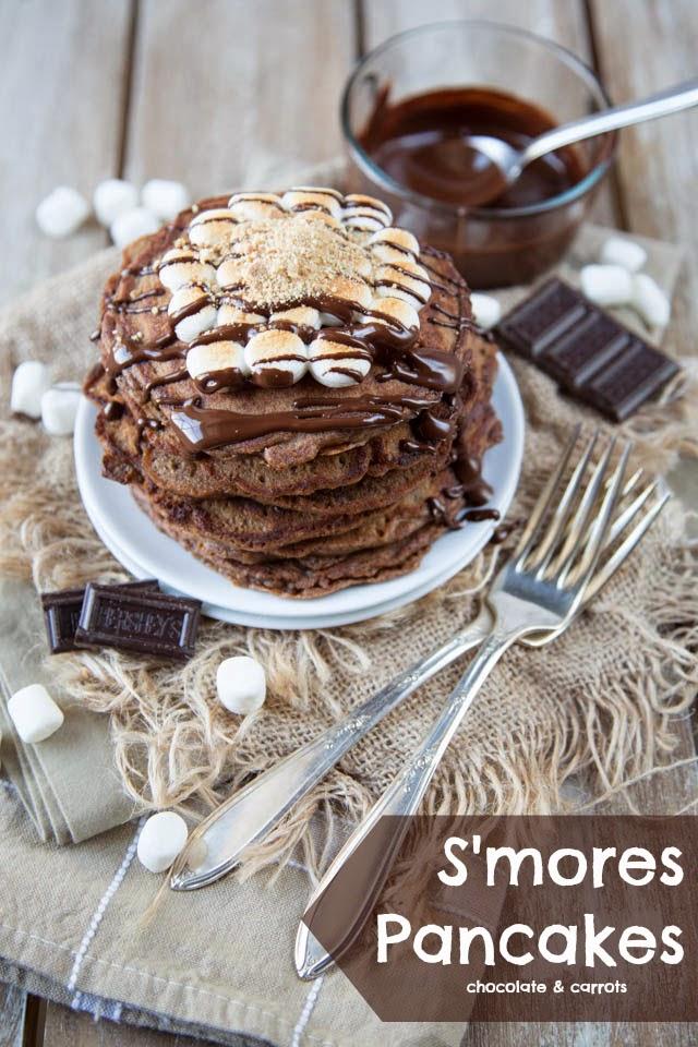 Smores-Pancakes-chocolateandcarrots.com-1