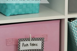Diy Erase Storage Labels