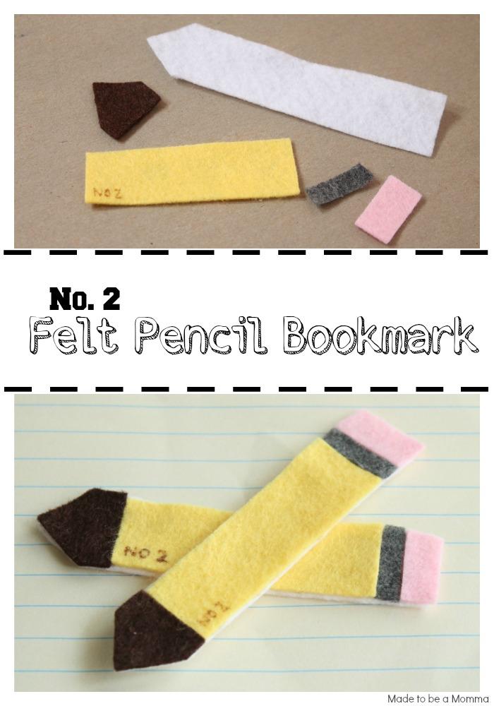 Felt Pencil Bookmark