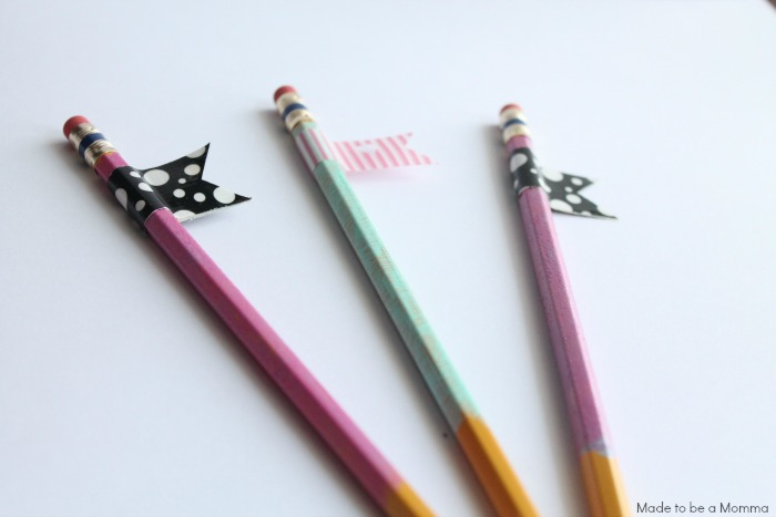 Pencils with Tags