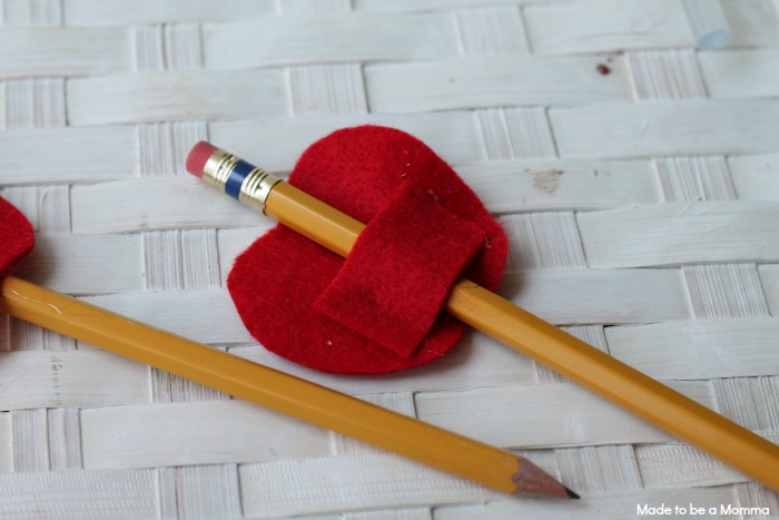 Back of Pencil Topper