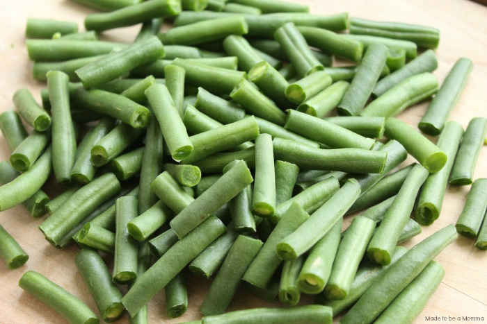 Cut the Green Beans