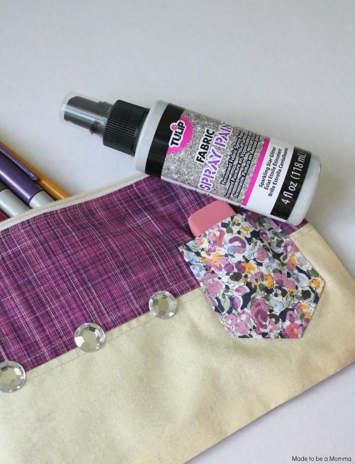 Glitter Fabric Spray