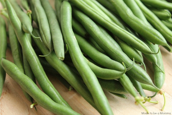 Green Beans to Freeze