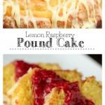 Lemon Raspberry Pound Cake